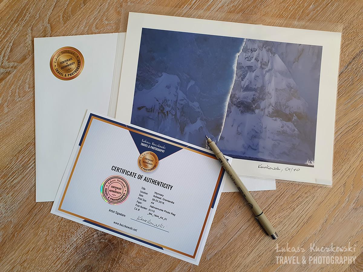Odbitki, wydruki, fotografie kolekcjonerskie Łukasz-Kuczkowski