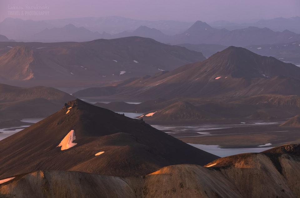 Islandia Landmannalaugar lato